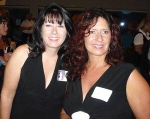 Kim Murphy and Nancy Georgiff 08-15-09