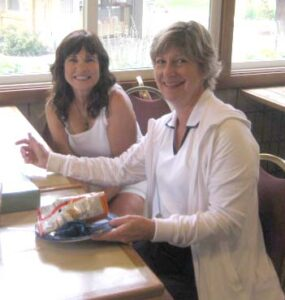 Mary Koppy & Sheila Johnson