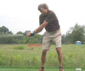 Neal Doty teeing off
