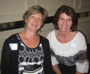 Sheila Johnson and ary Falkowski