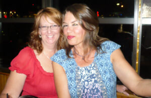 Shelly Boege and Gail Anderson