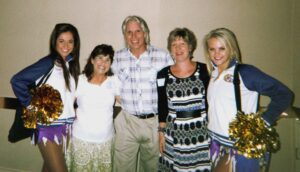 mary randy sheila and cheerleaders