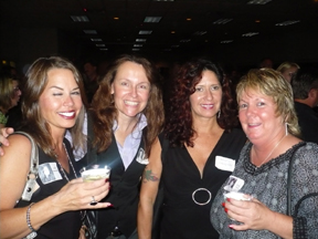 reunion Gail Anderson Jacquie Bevens Nancy Georgiff and Holly Theis