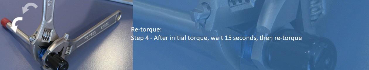 Analog Method to determine proper amount of torque for a SECO7 flare saver - Step 4