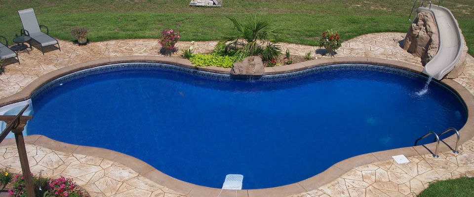 Photo of an inground pool in Naperville, IL