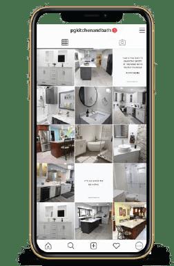 success Case: Pg Kitchen And Bath Social Media