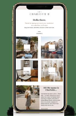 success Case: ByCharlotte Email Marketing