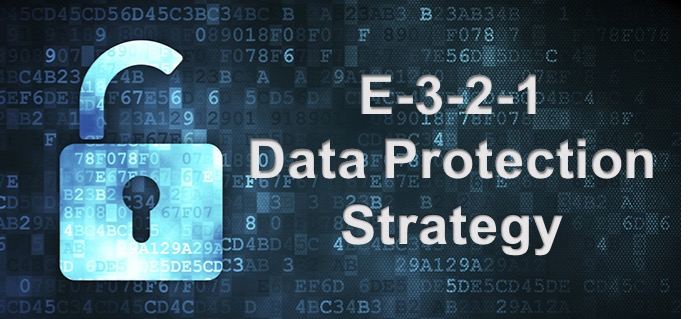 E-3-2-1 Data Protection Strategy 3-2-1- Data Protection Cyber security