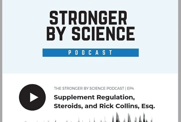 """Rick Collins Featured on """"Stronger by Science"""" Podcast"""