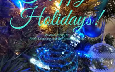 Happy Holidays – be joyful