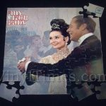 """Soundtrack """"My Fair Lady"""" Album Cover (with photo) Jigsaw Puzzle"""