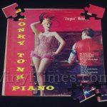"Fingers Mahoney ""Honky Tonk Piano"" Album Cover Jigsaw Puzzle"