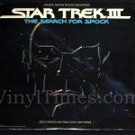 "Soundtrack - ""Star Trek III The Search For Spock"" Vinyl LP Record Album"