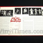 """Broadway - """"I Can Get It For You Wholesale"""" Vinyl LP Record Album gatefold cover inside"""