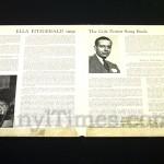 "Ella Fitzgerald - ""Sings The Cole Porter Song Book"" Vinyl LP Record Album gatefold cover inside"