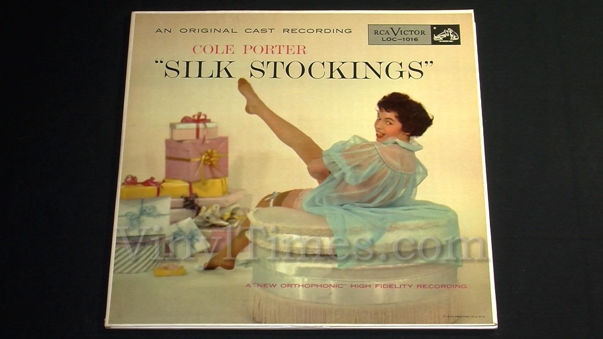 "Cole Porter - ""Silk Stockings"" (Broadway) Vinyl LP Record Album gatefold cover"