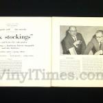 "Cole Porter - ""Silk Stockings"" (Broadway) Vinyl LP Record Album gatefold cover inside"
