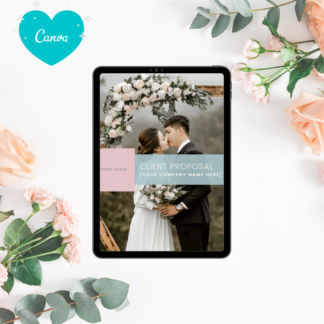 Event Wedding Planning Proposal Template