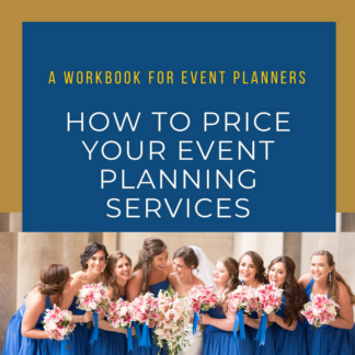 how to price your event planning services