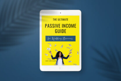 Passive Income Guide for Wedding Planners (1)