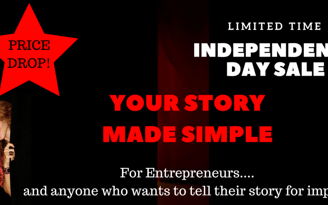 Your Story Made Simple On Sale for July 4th