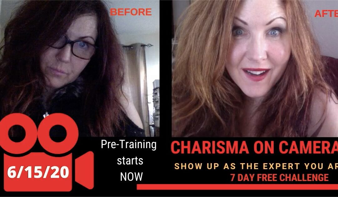 Charisma on Video: Free 7 Day Challenge