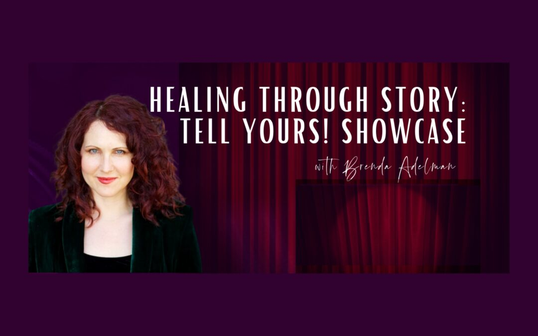 The courage to step on stage and tell your story