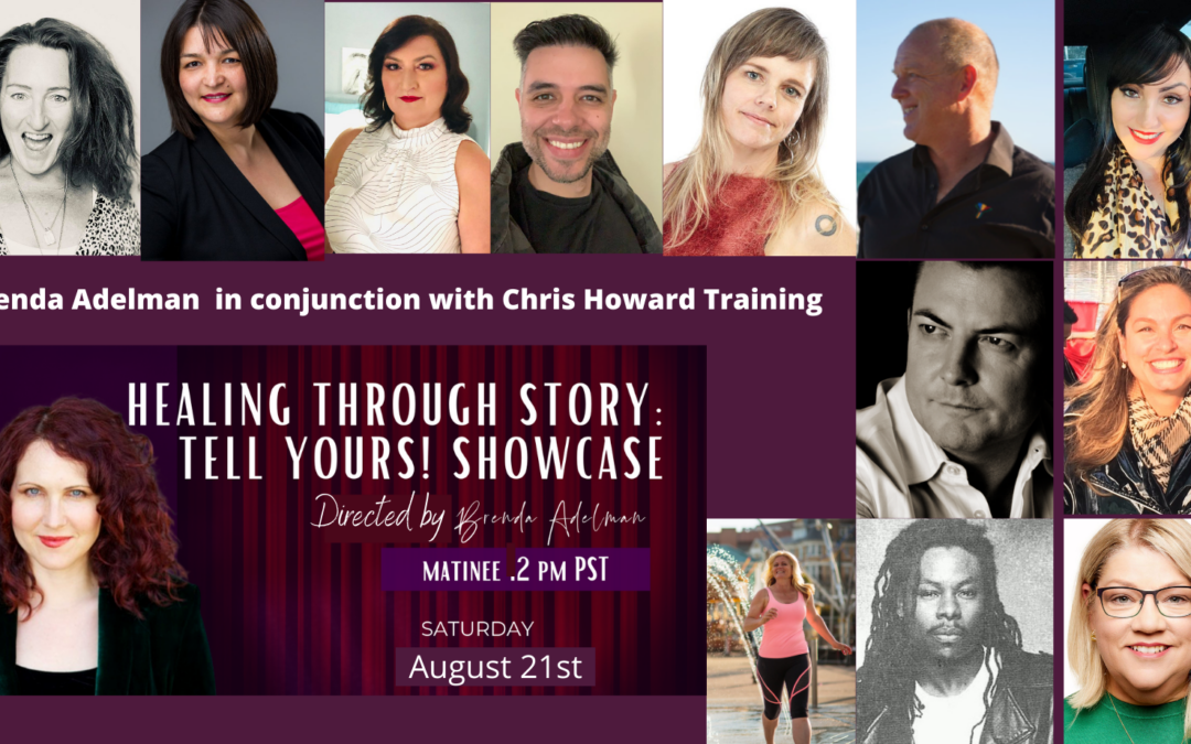 SHOWCASE: Healing through Story: Tell Yours on Stage TODAY