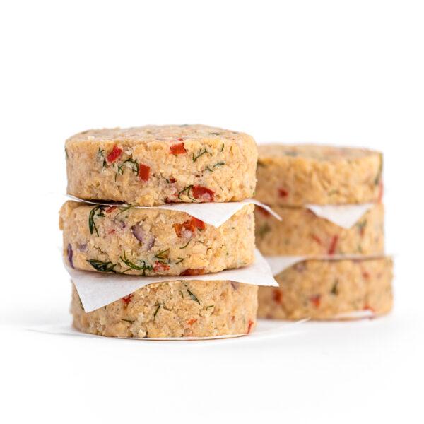 Crabless Cakes - Vegan Crab Cakes