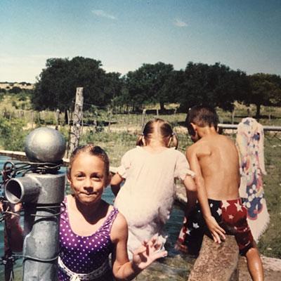 Swimming Cousins