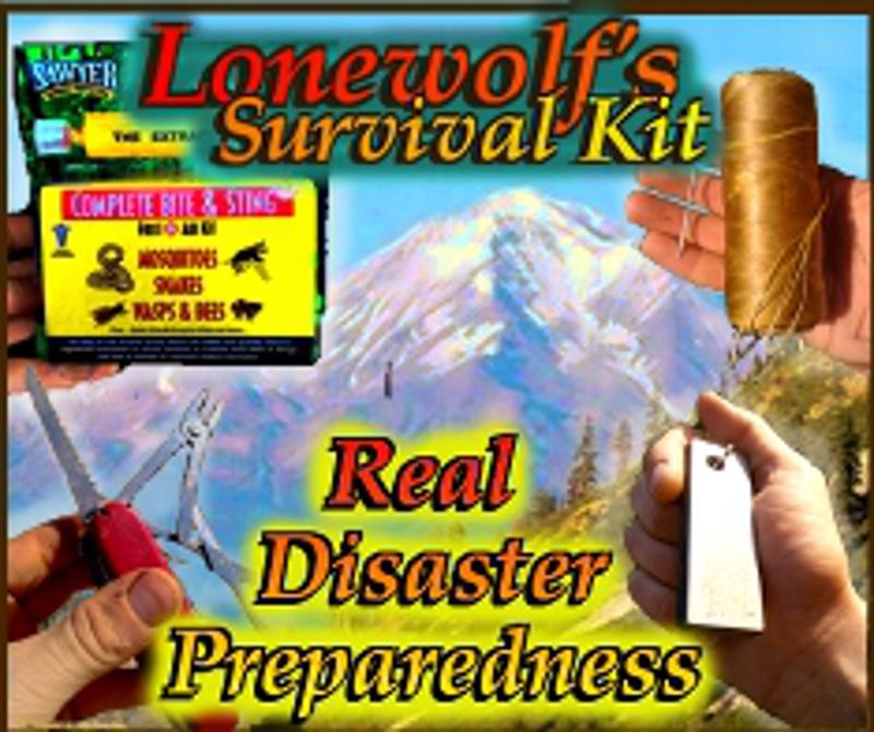 Lonewolf's Survival Kit ad