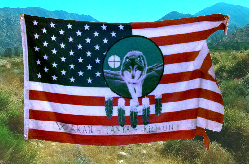 Wolf Flag Blessing