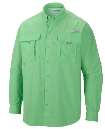 Bahama Shirt chartreuse