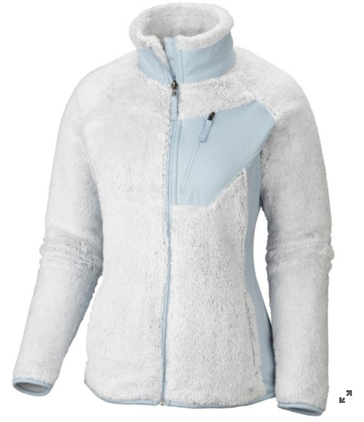 Women's Double Plush Sporty Full Zip Jacket