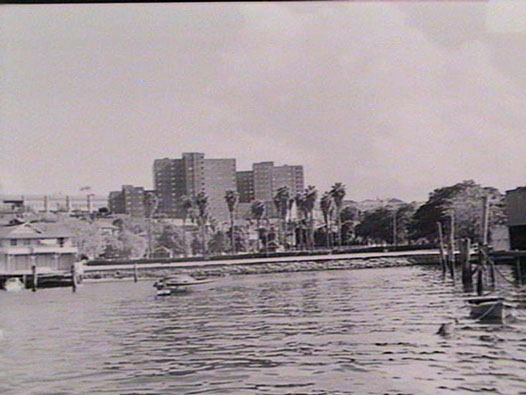 View of Greenway around 1955 from Miller's Point