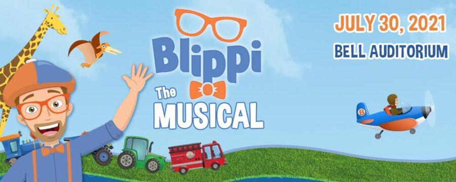 blippi the musical banner