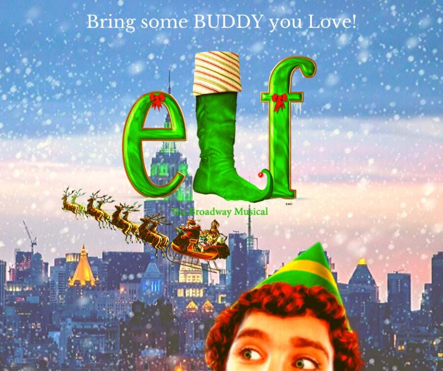 elf the musical banner