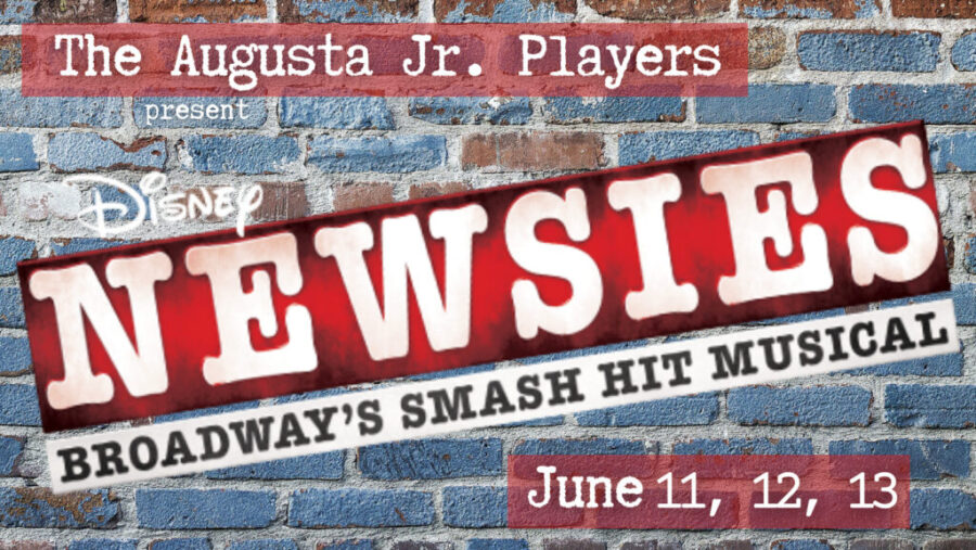newsies banner with dates
