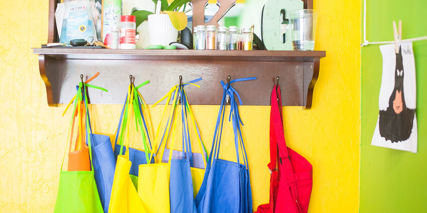 colorful aprons