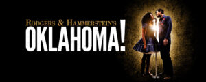 oklahoma! banner with title and lead actors