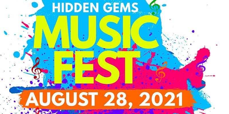 hidden gems music fest logo