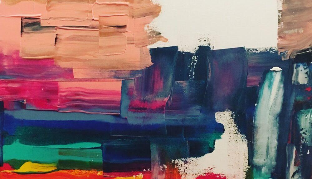 decorative paint strokes