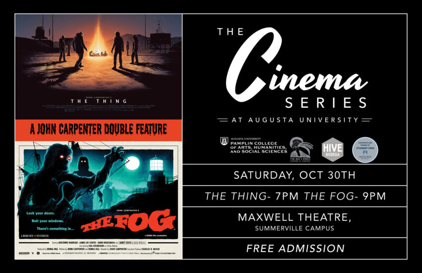 cinema series flyer
