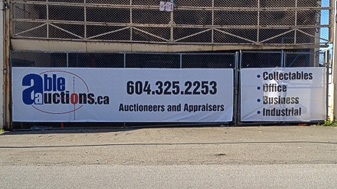 Promotional Signs fence banners