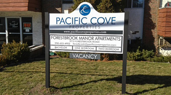Outdoor Signs Plywood