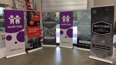Promotional Signs Roll up banners