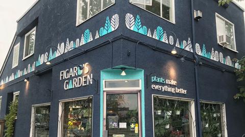 Outdoor Signs at Figaros Garden