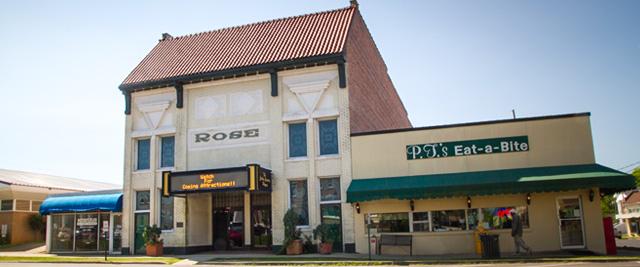 Rose Theatre in Morehouse Parish