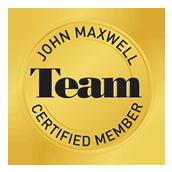 Certified Team Member of John Maxwell