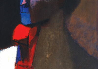 The Man with The Red Cravat, 1959, Oil on Canvas
